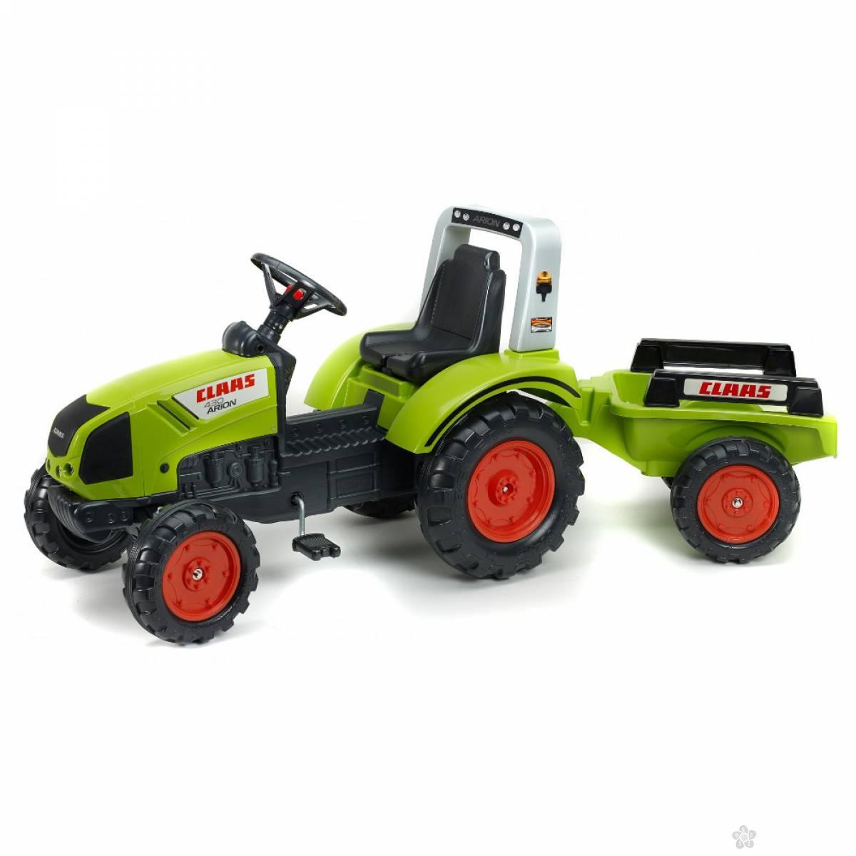 Traktor Claas sa prikolicom 1040ab