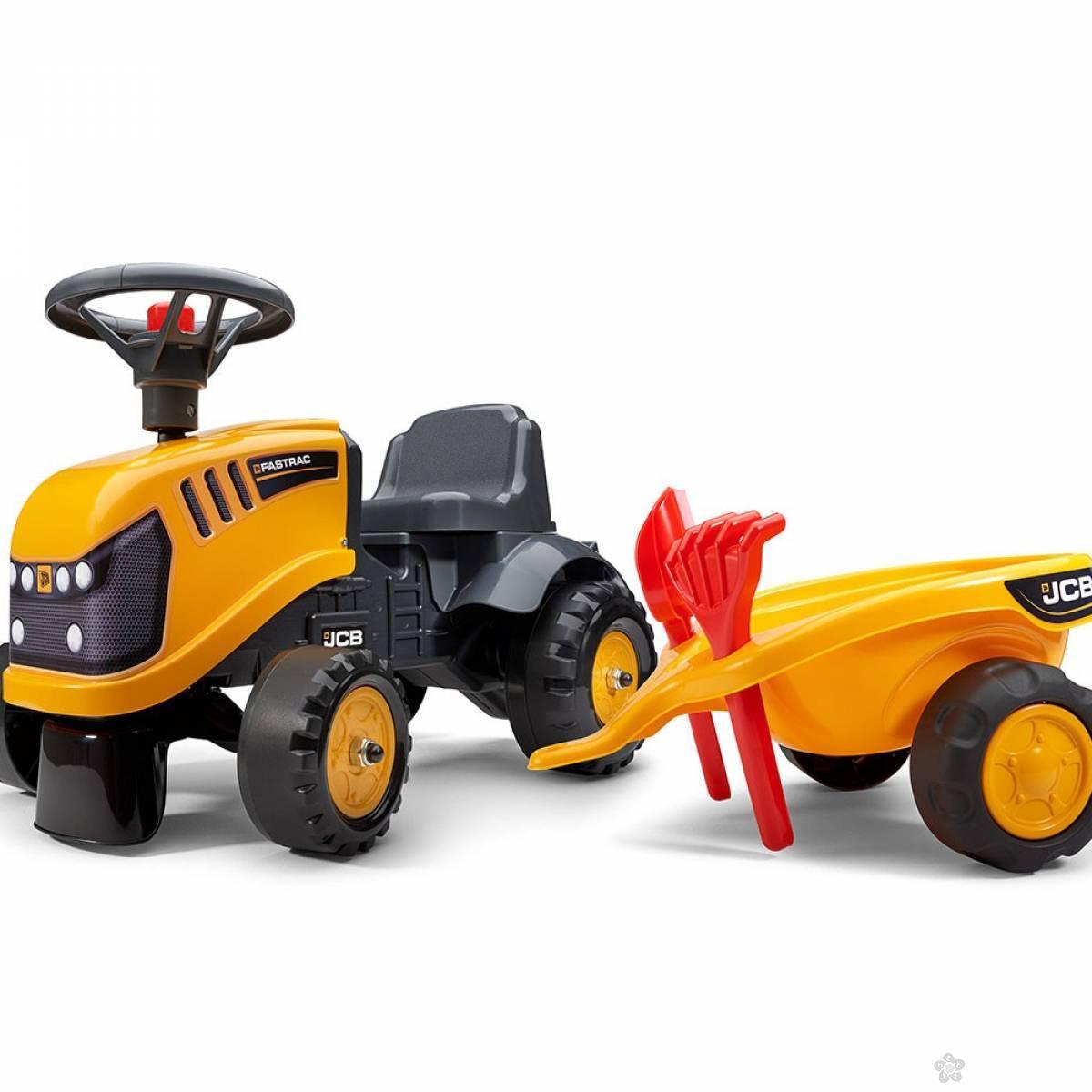 Traktor guralica JCB 215c