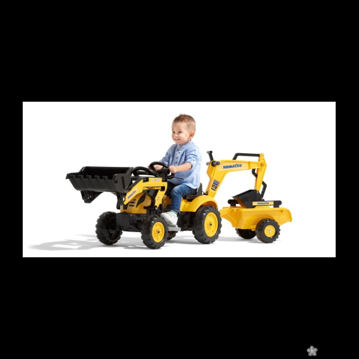 Traktor Komatsu 2076n