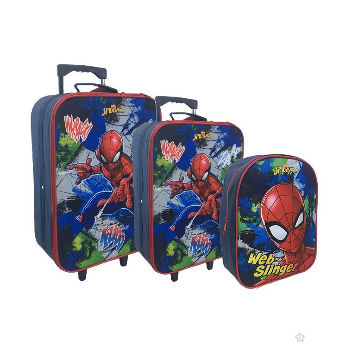 Set kofera i ranac Spiderman 326346