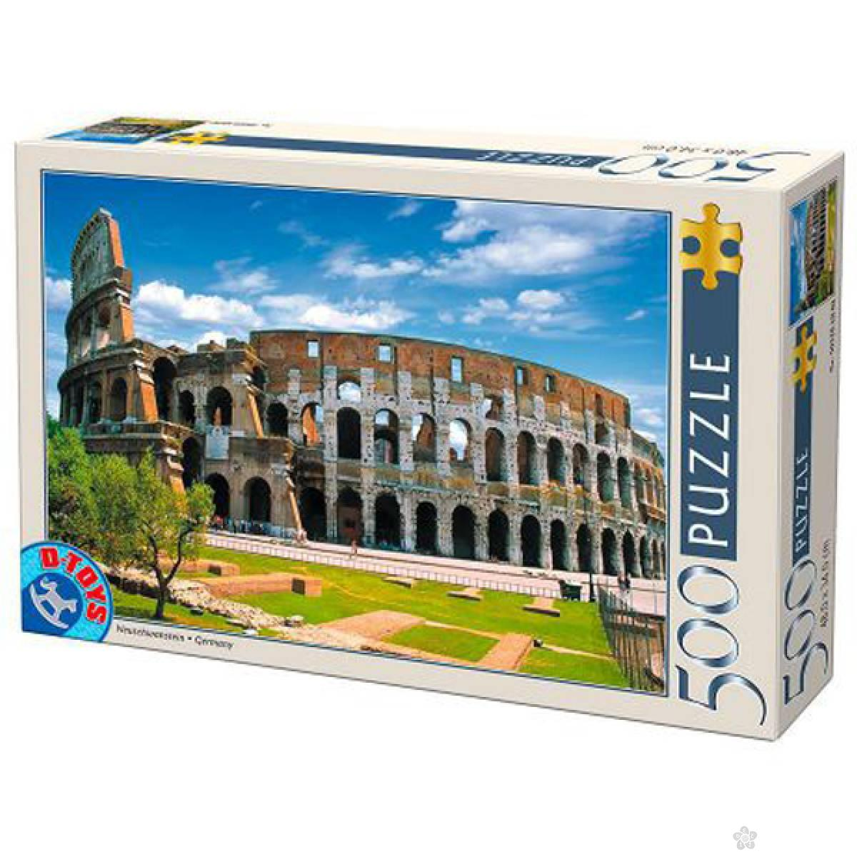 Puzzla Colosseum Rome 500pcs 07/50328-07