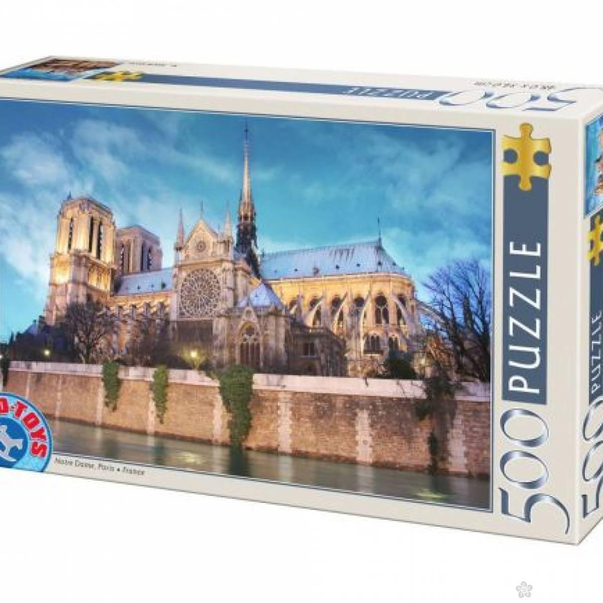 Puzzla Notre Dame Cathedrale 500pcs 07/50328-34
