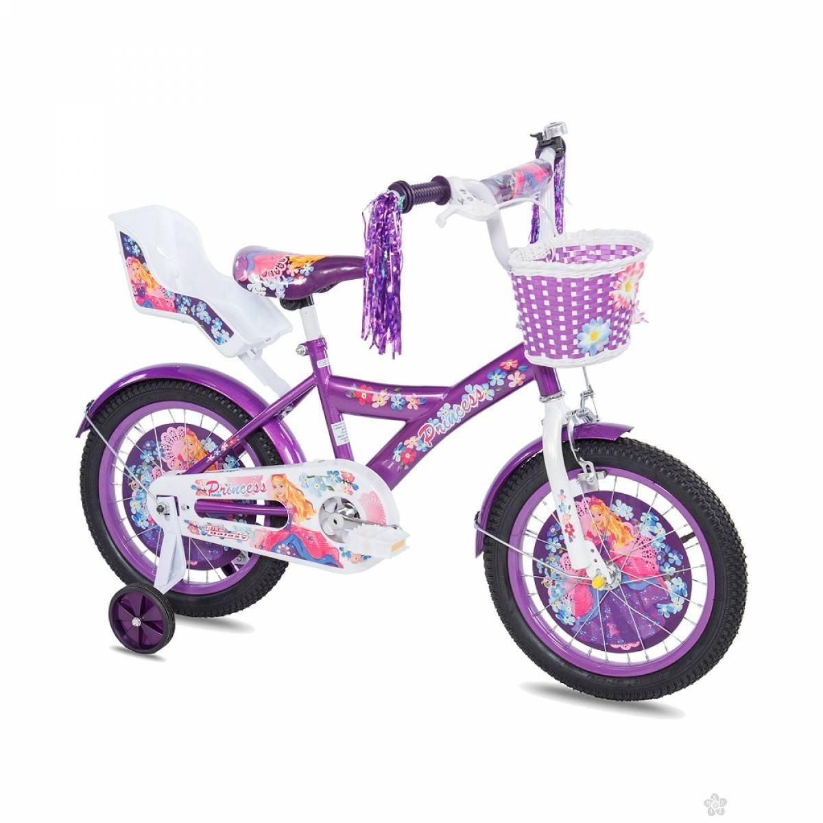 Dečiji Bicikl Princess 16 ljubičasta, 460122