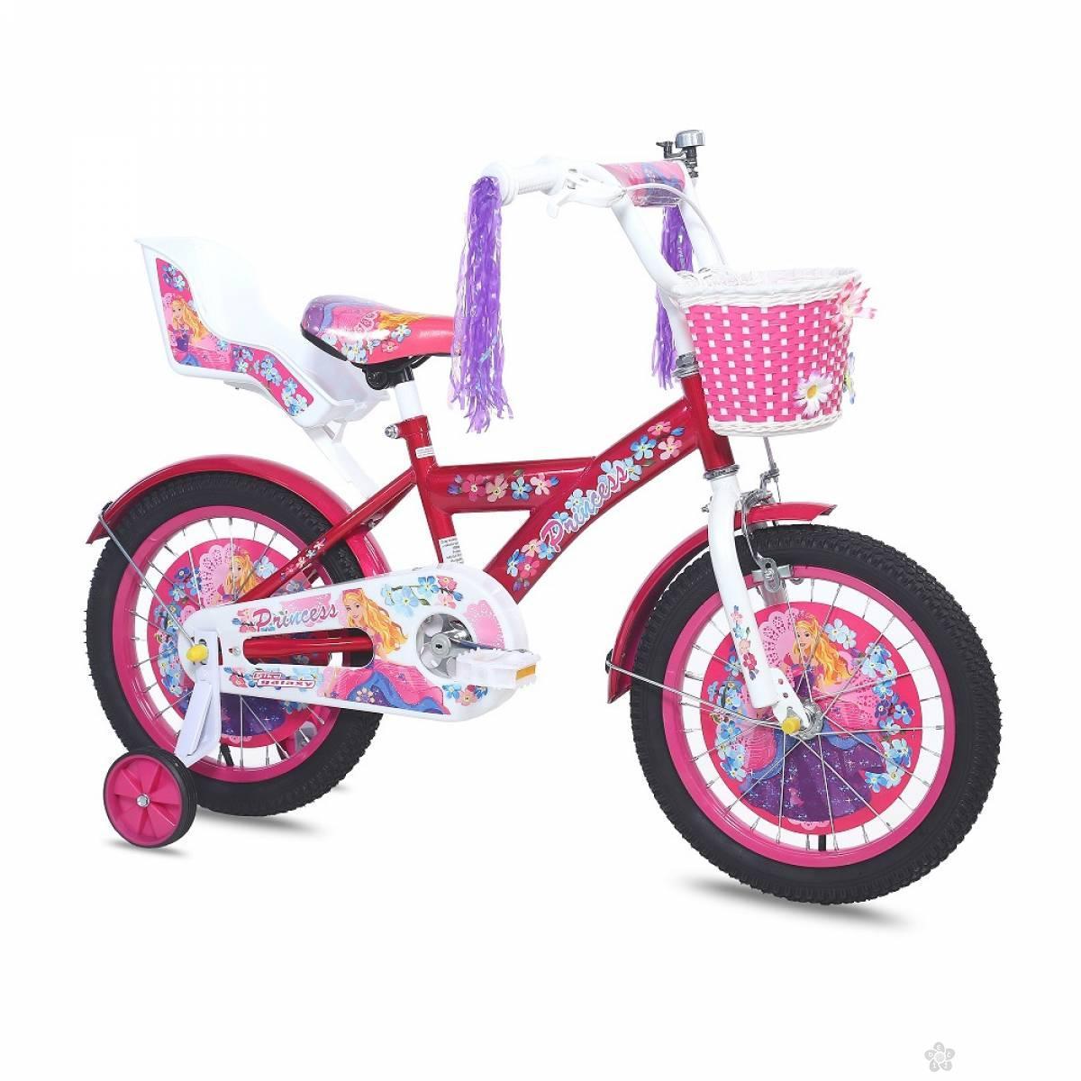Dečiji Bicikl Princess 16 roza 460142