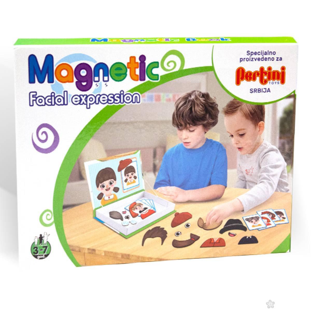 Magnetni set izrazi lica i osećanja 23363