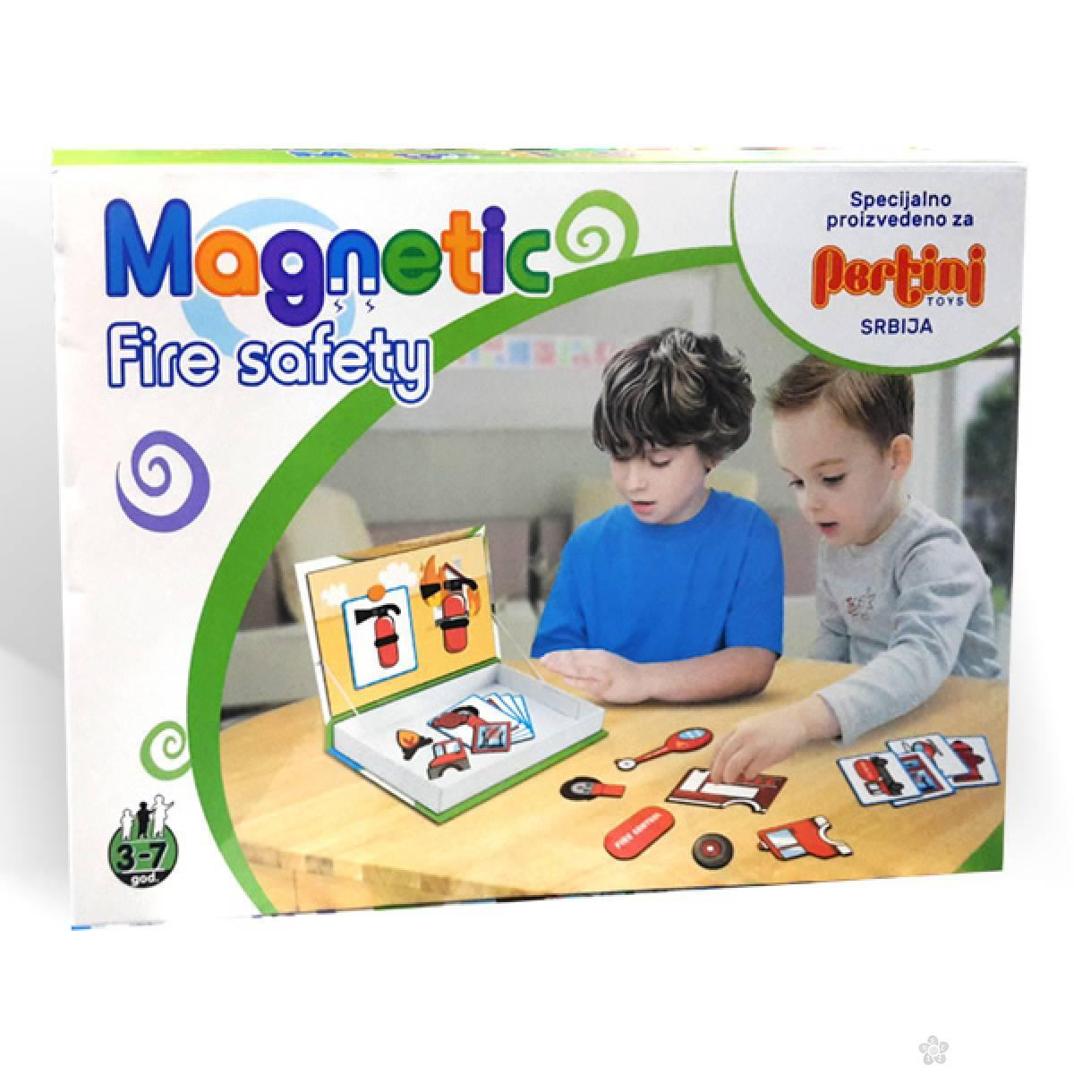 Magnetni set mali vatrogasac 23365