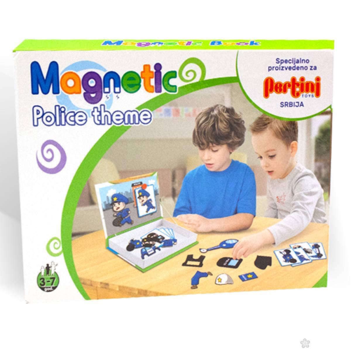 Magnetni set policija 23364