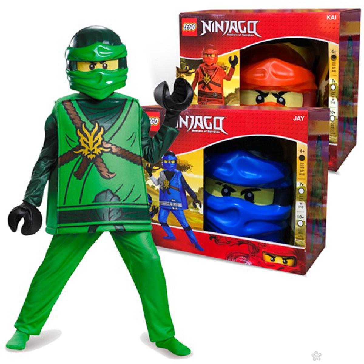 Kostim Lego Ninjago Jay 98123L