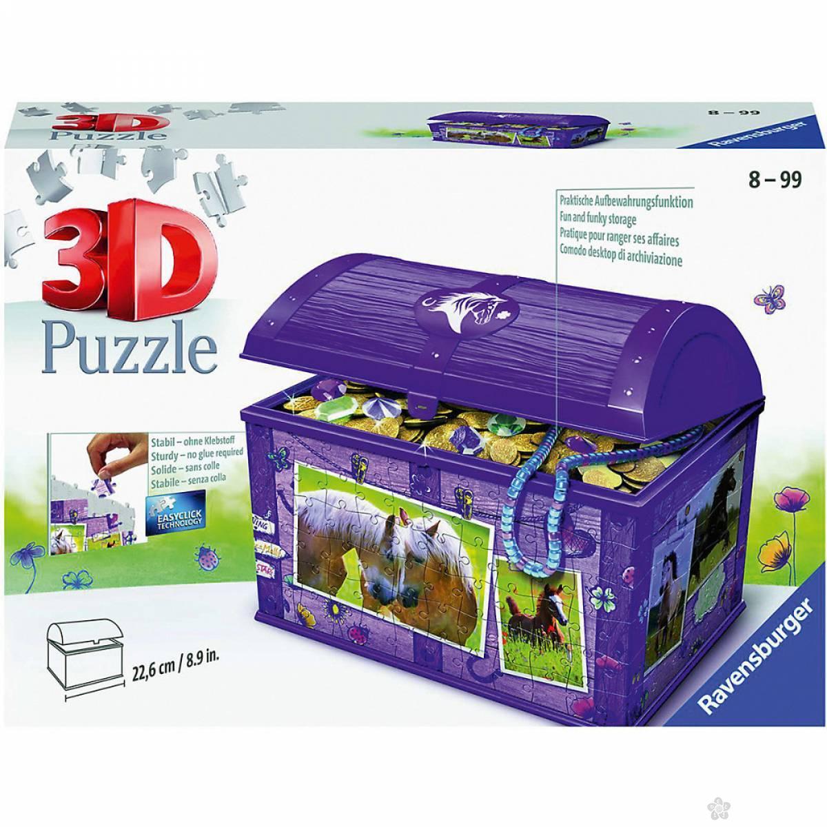 Ravensburger 3D puzzle Kutija za blago RA11173