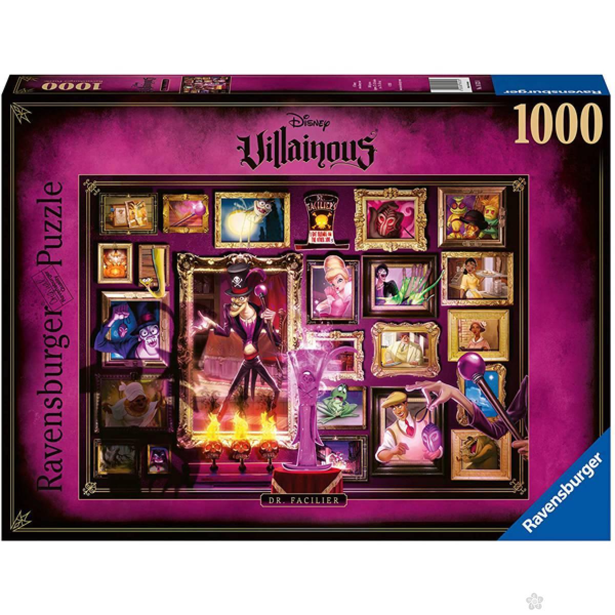 Ravensburger puzzle Villainous - Dr. Facilier RA16523