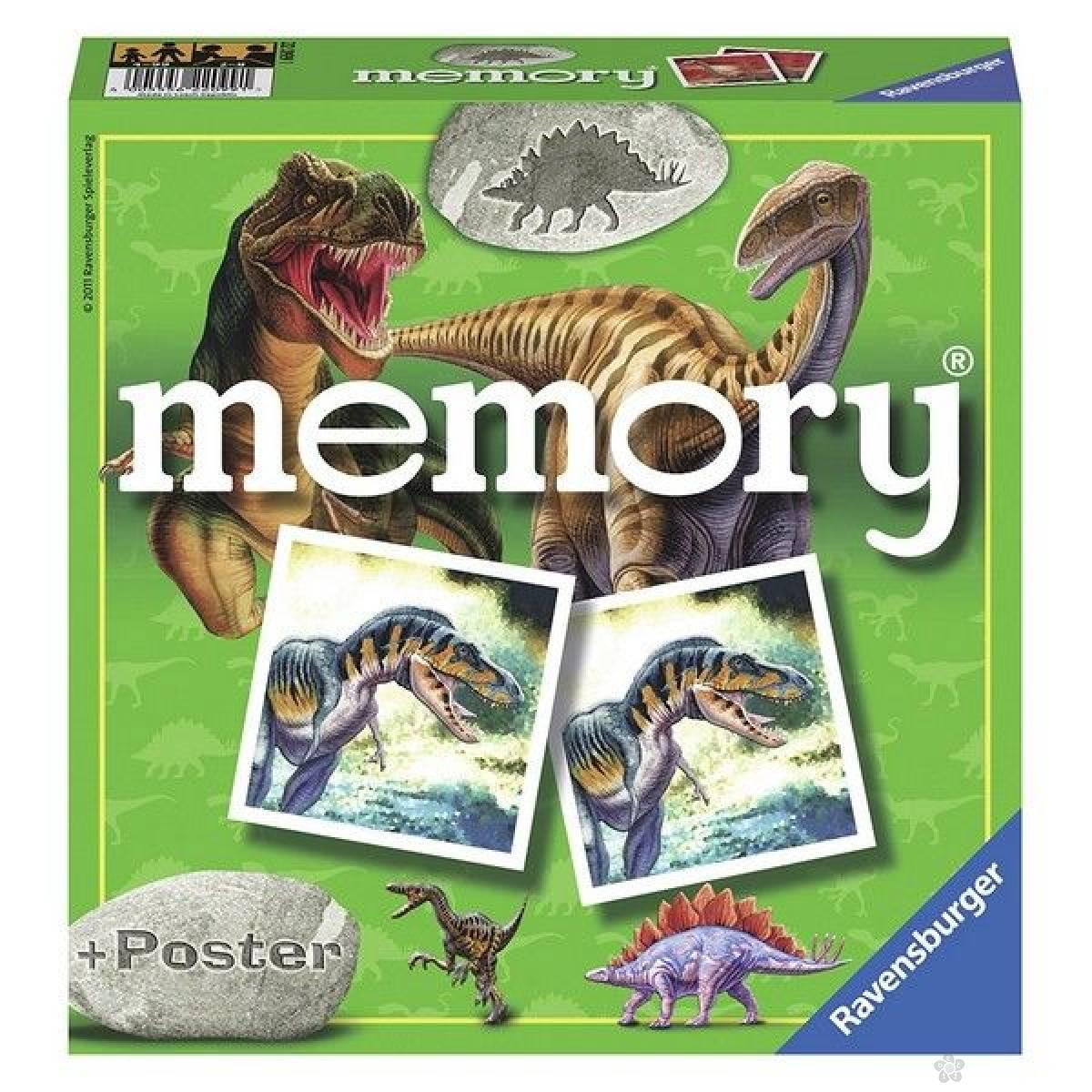 Društvena igra Dinosaurus memorija RA22099