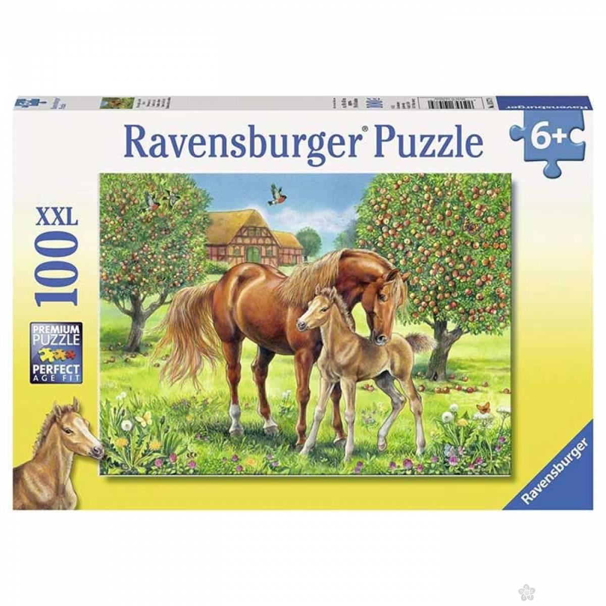 Ravensburger puzzle Konji u divljini  RA10577
