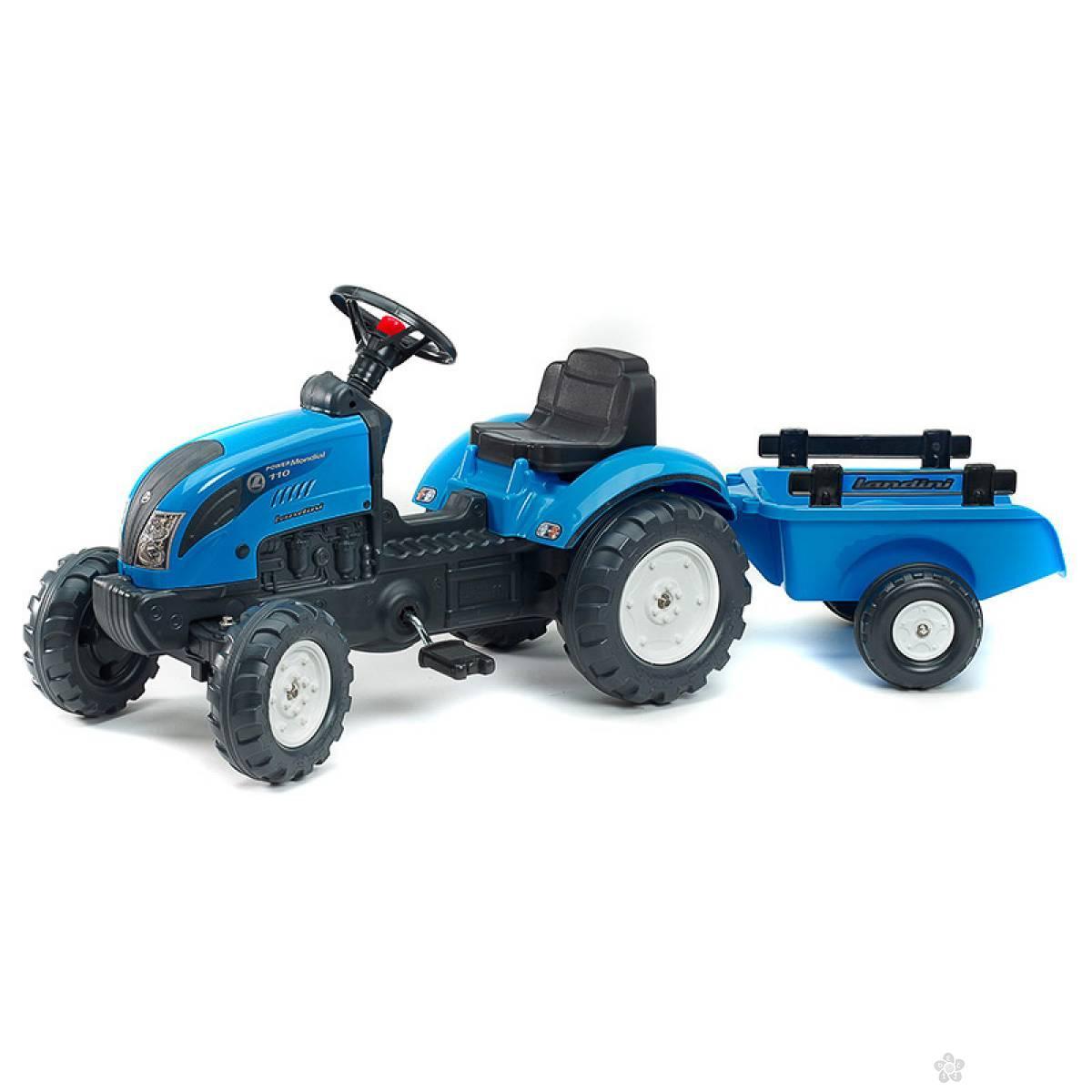 Traktor Landini sa prikolicom 2050c