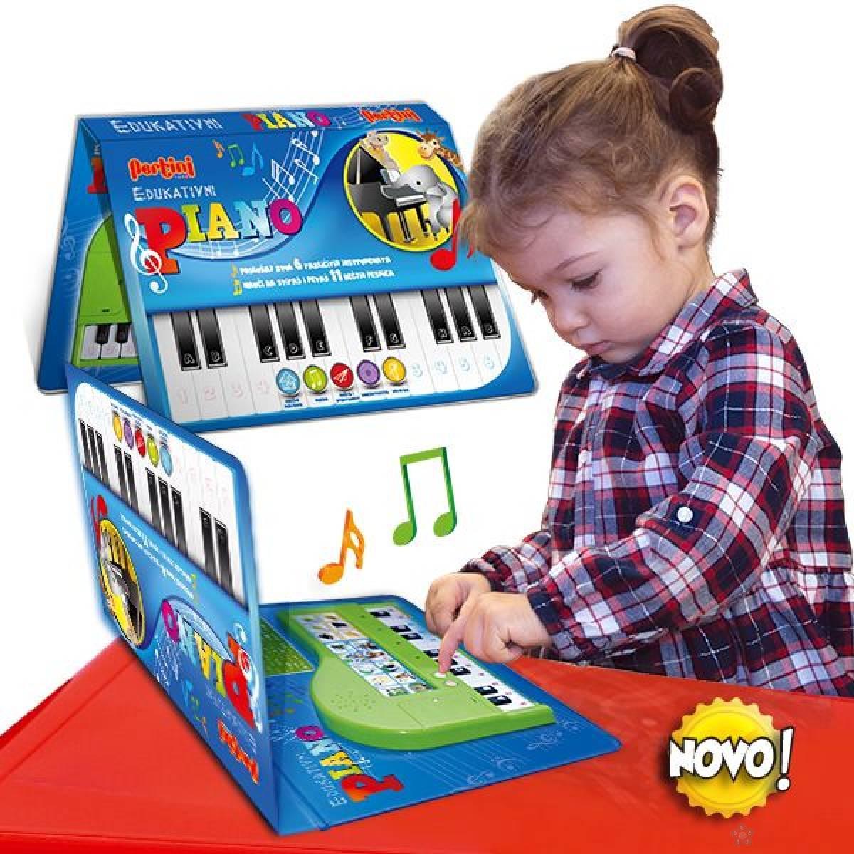 Edukativni piano P-0283