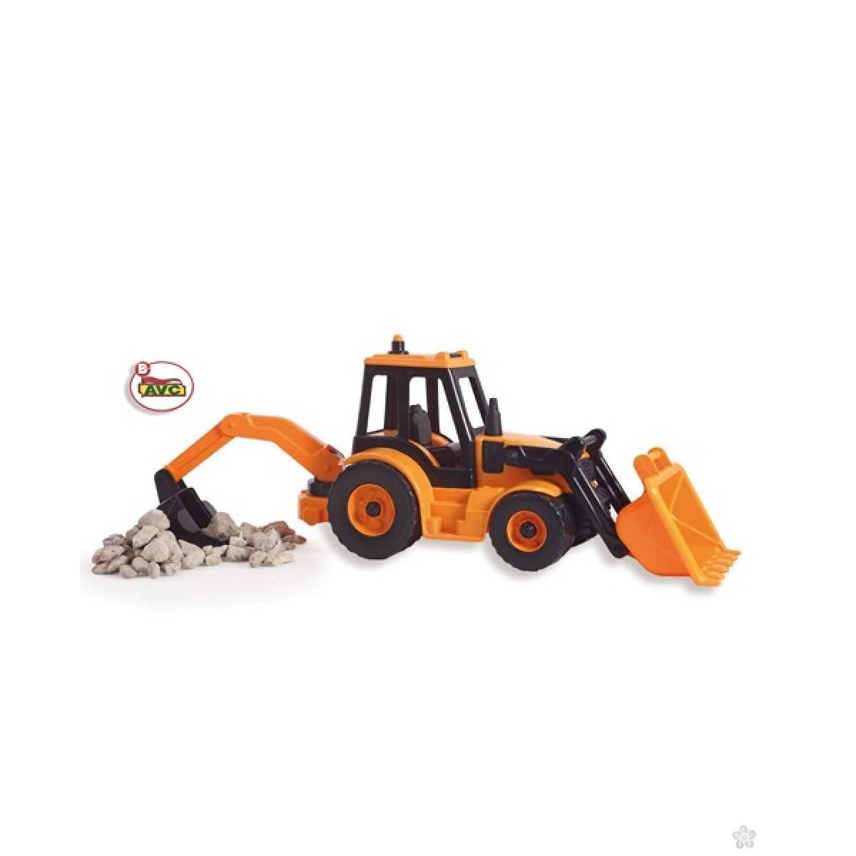 Traktor bager-rovokopač 5210