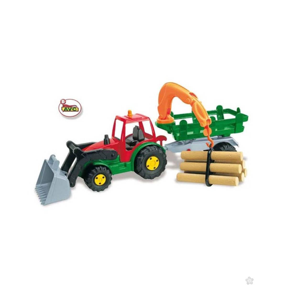 Traktor sa drvima 5200