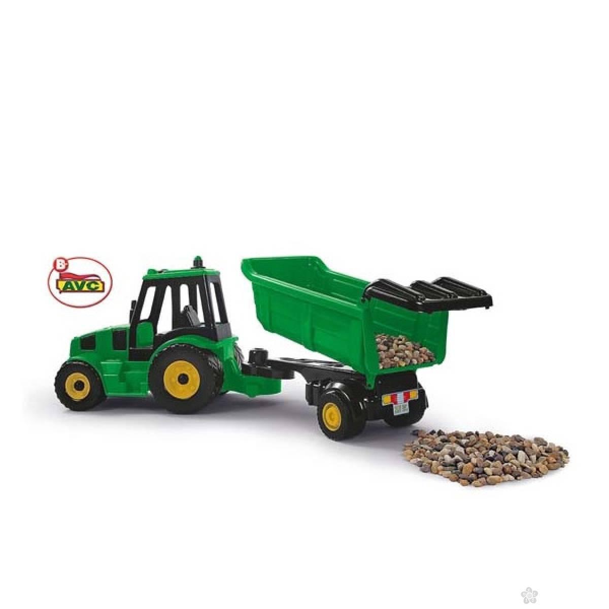Traktor sa prikolicom 5214