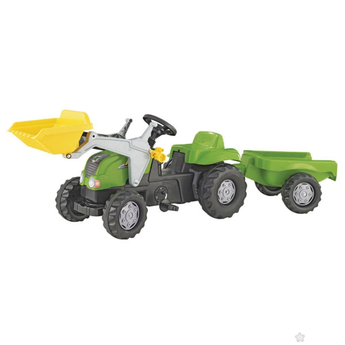 Traktor na pedale Utovarivač sa prikolicom 023134