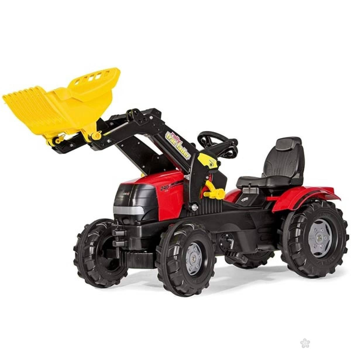 Traktor na pedale Case Puma CVX240 sa kašikom 611065