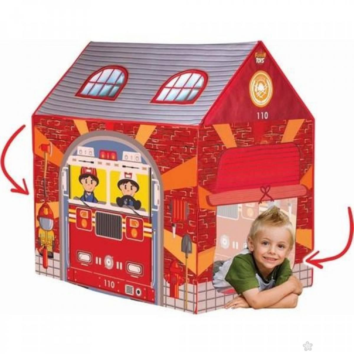 Šator-kućica vatrogasna stanica, 57560