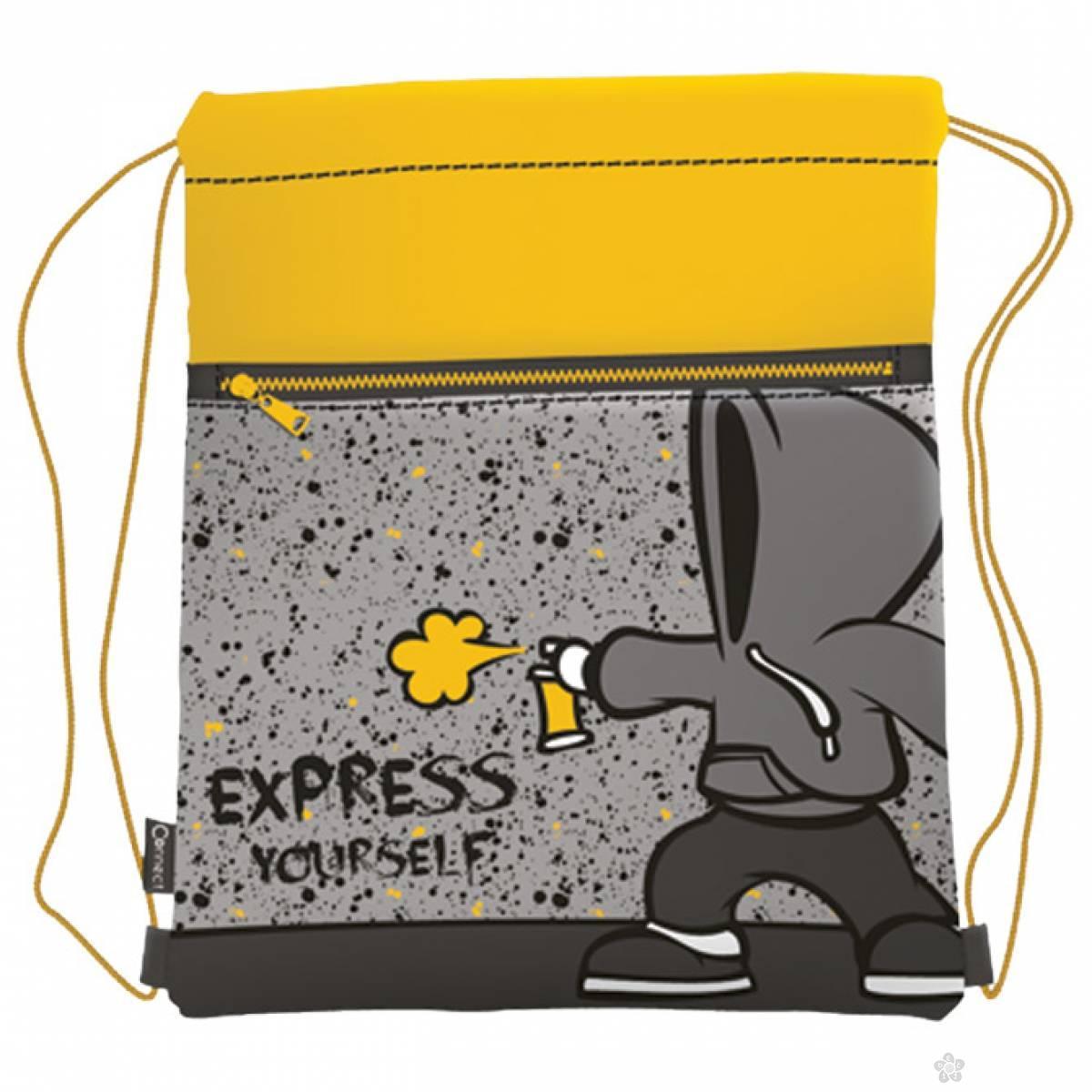 Torba za fizičko Express yourself 45057