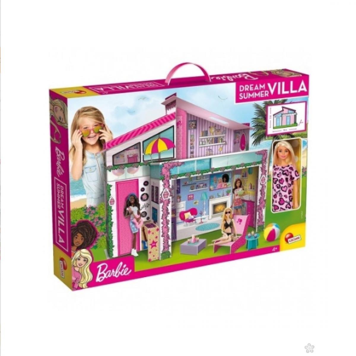 Barbie vila letnji snovi sa lutkom 45025
