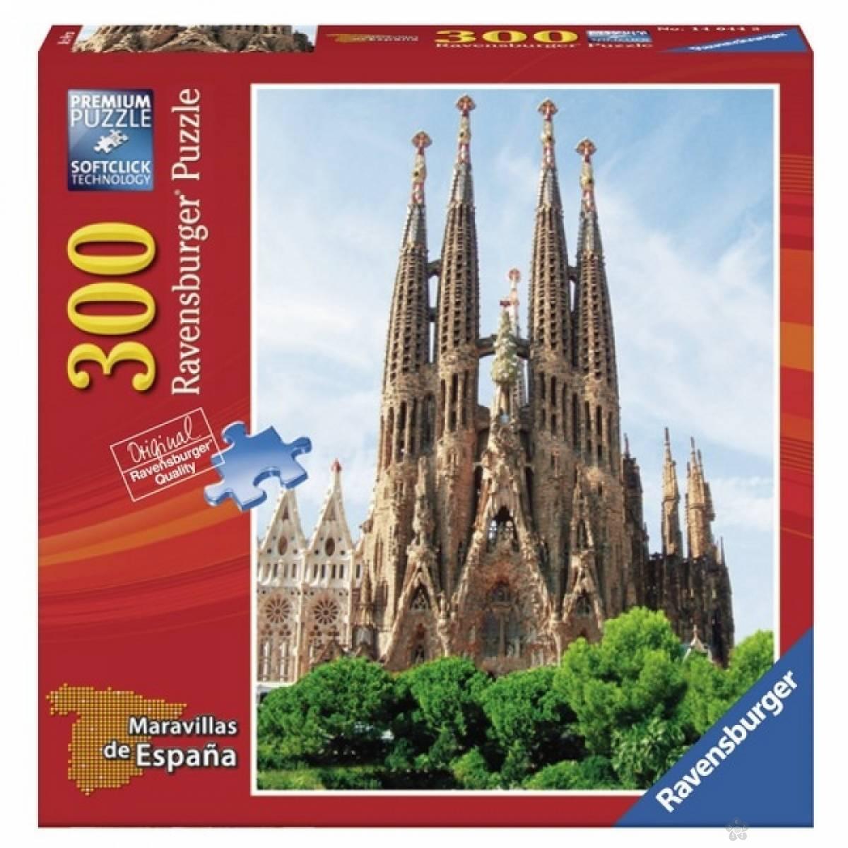 Ravensburger puzzle Sagrada Familija RA14044