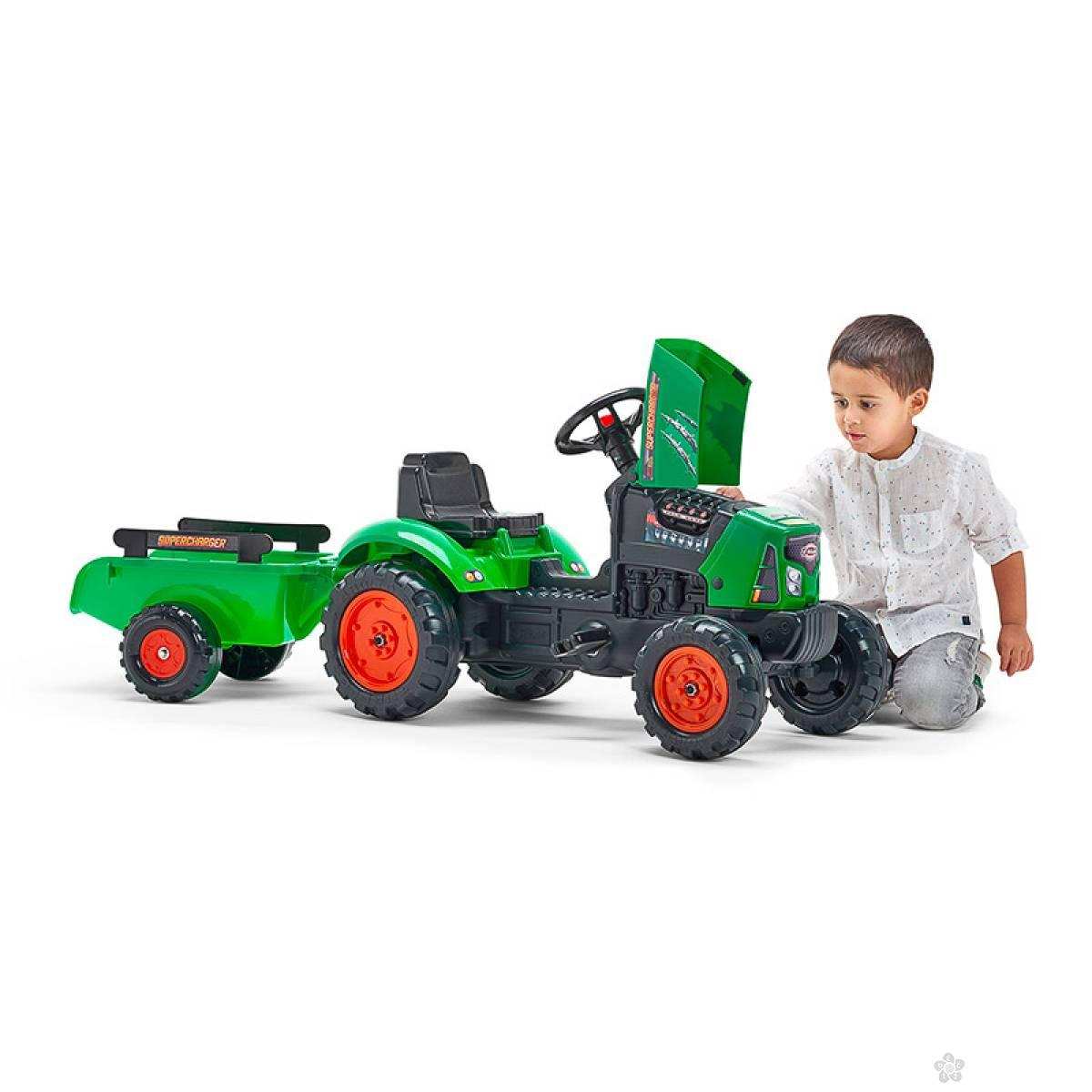 Traktor Supercharger pedale 2031ab