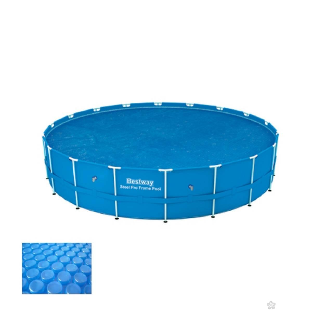 Solarni pokrivač za bazen 549cm 58173