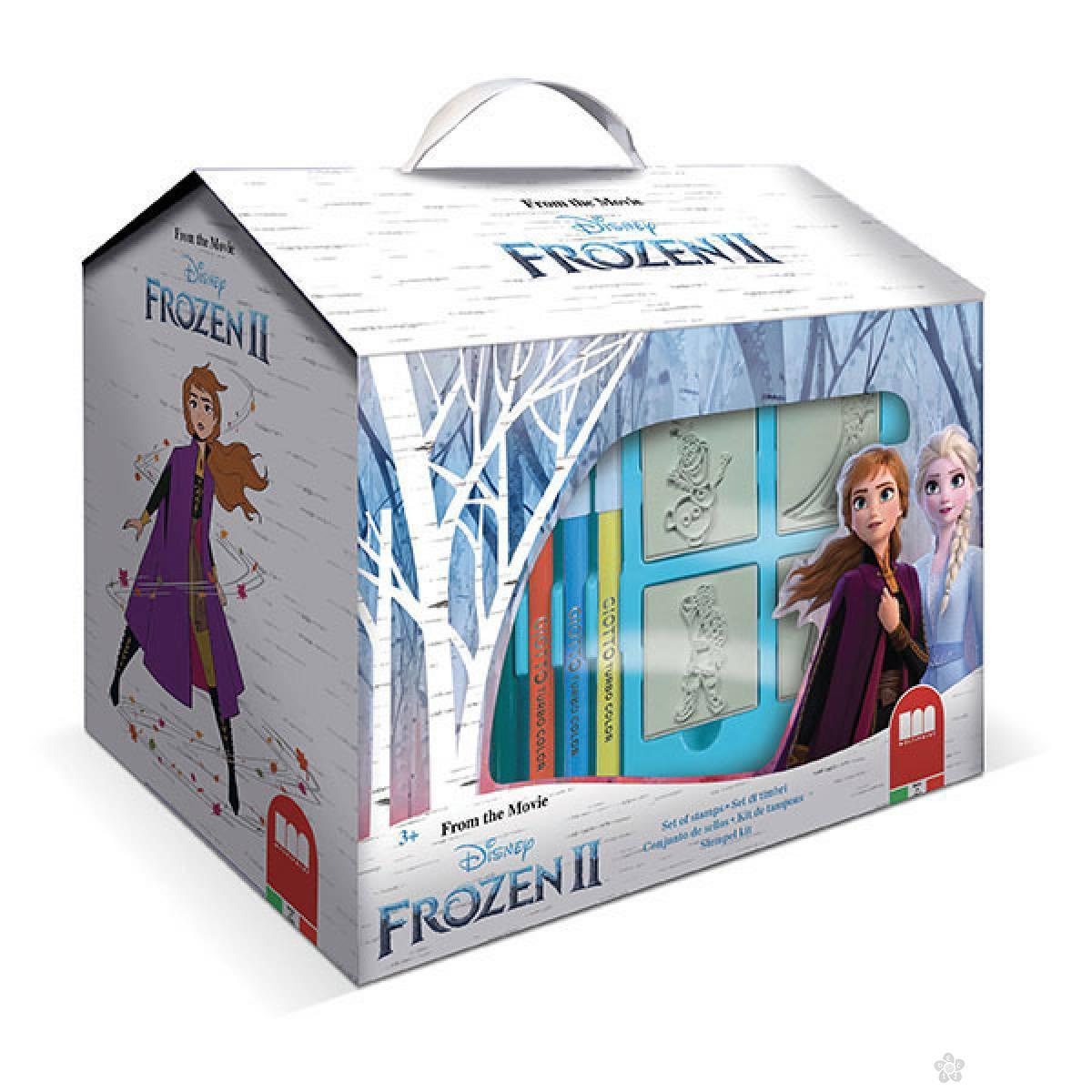 Kućica pečati Frozen 099814