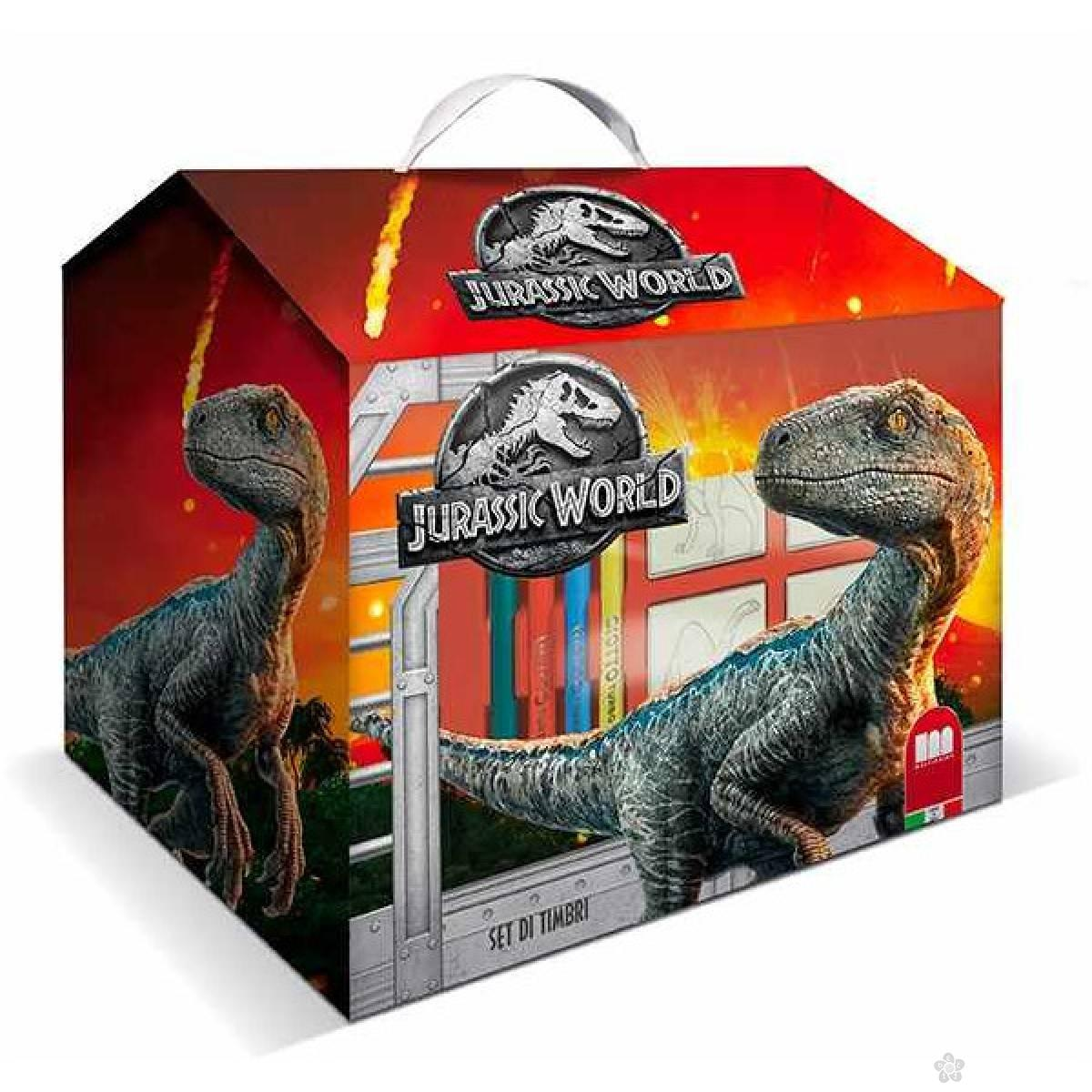 Kućica pečati Jurassic World 099753