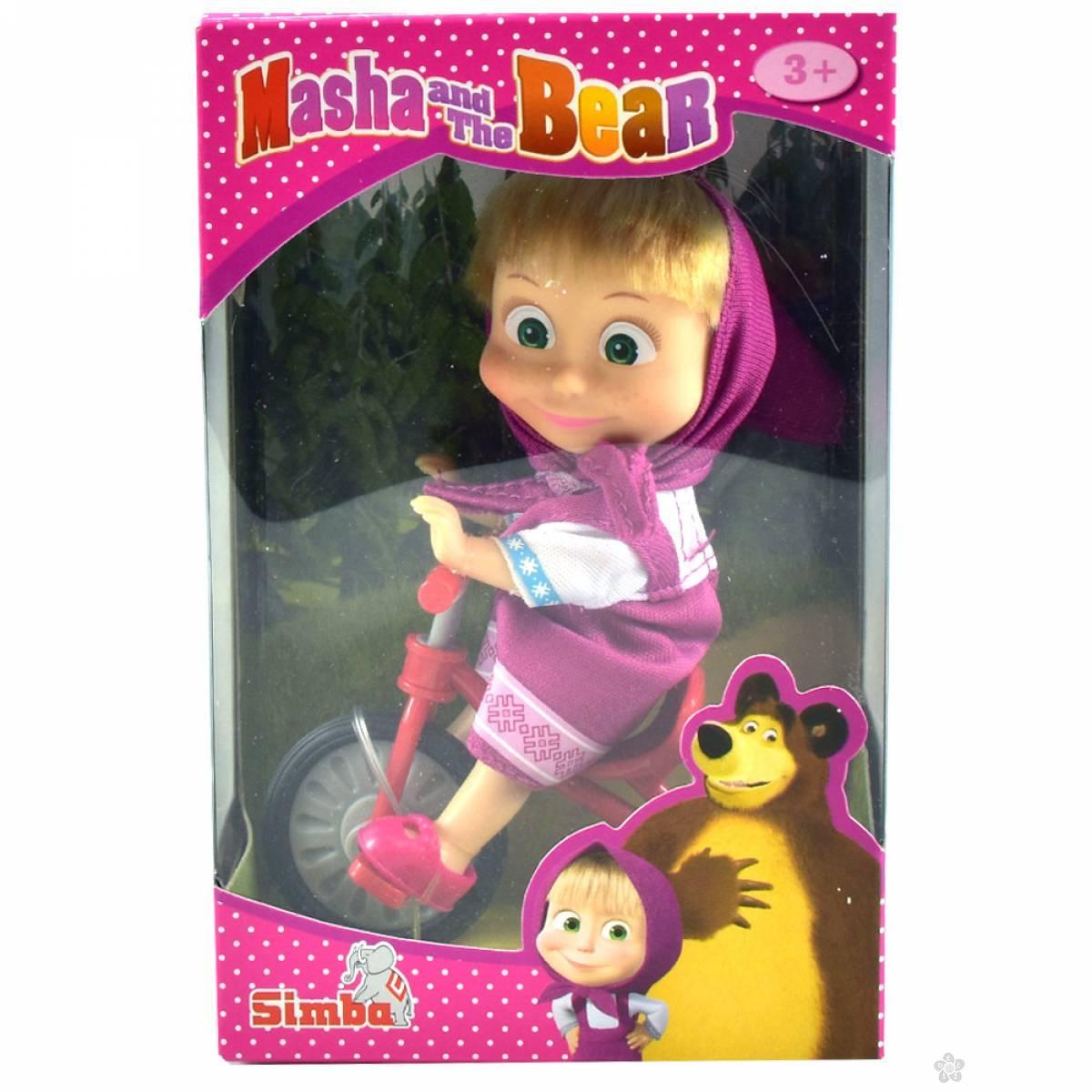 Maša I Meda Lutka na biciklu 109302059