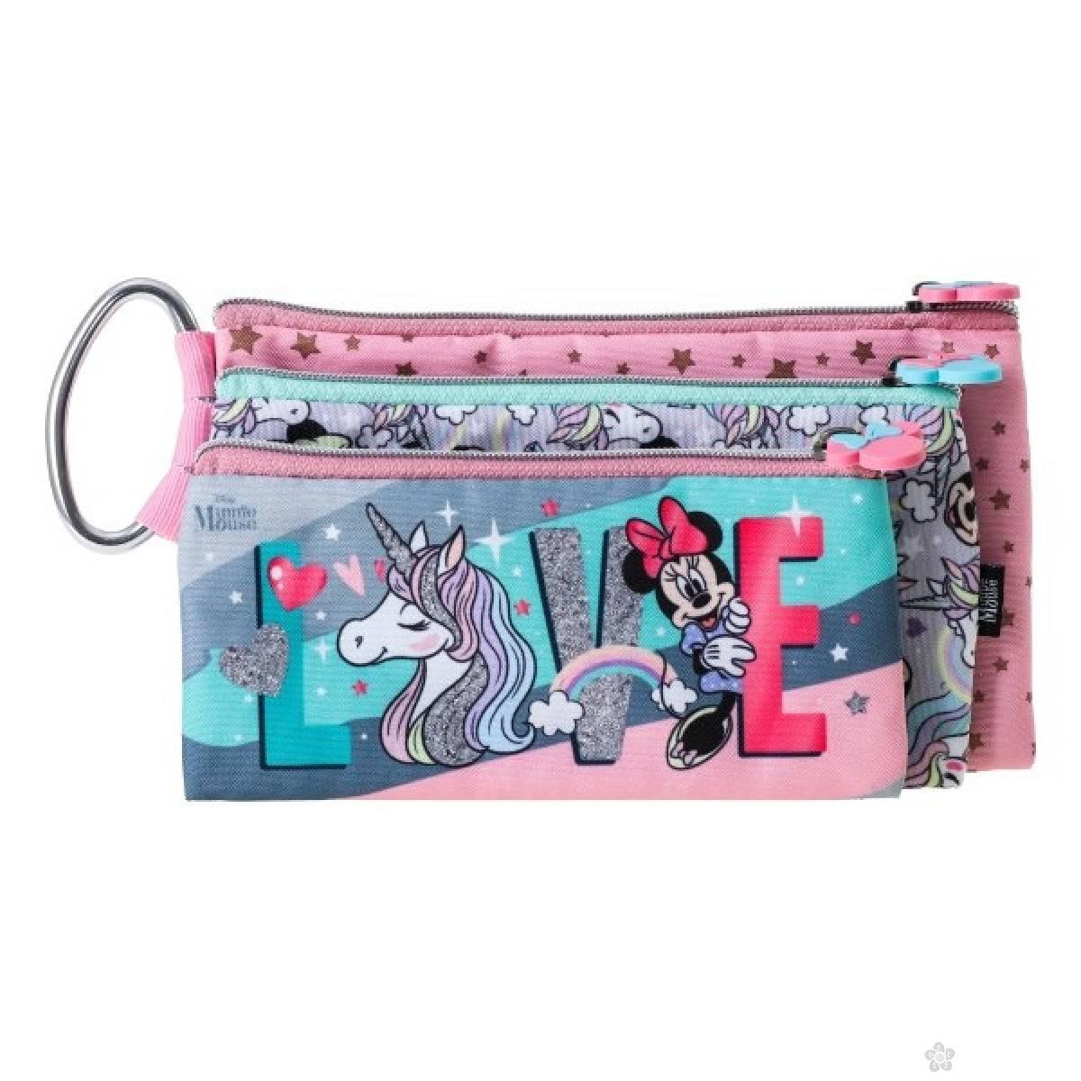Pernica prazna trodelna Minnie Mouse Love 318652