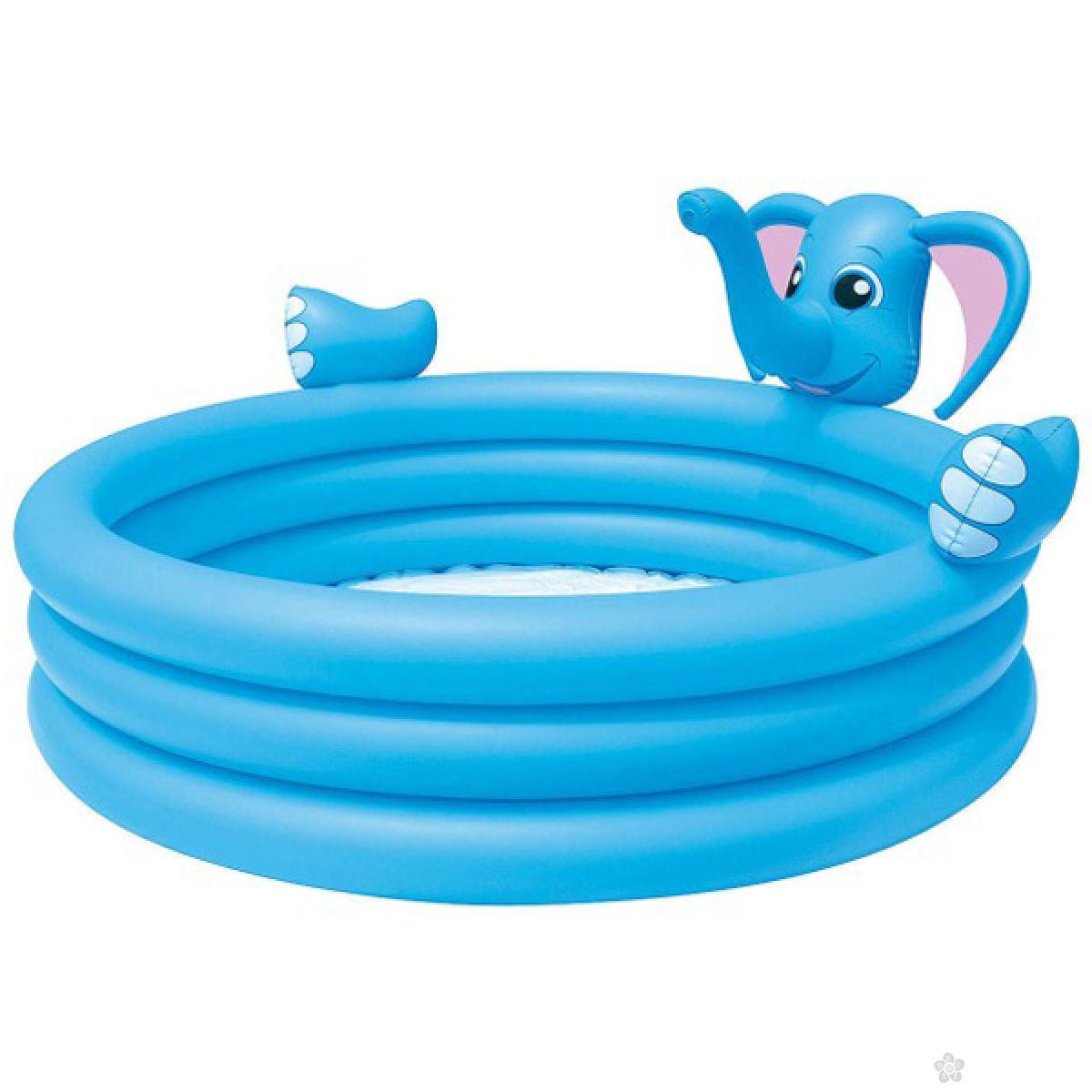 Dečiji bazen Bestway Slon sa prskalicom, 53048