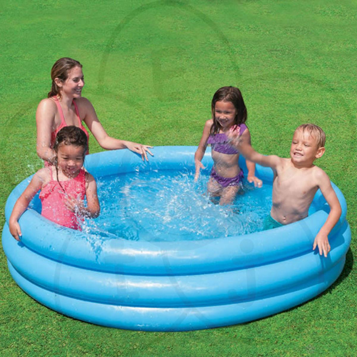 Intex bazen na naduvavanje za decu Cristal blue, 168x40cm