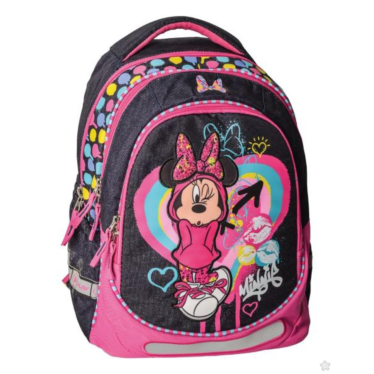 Anatomski ranac  Maxx Minnie Mouse Heart 318022