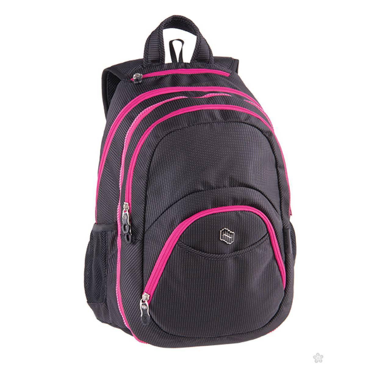 Ranac 2 u 1 Teens Pink Black Dot 121793