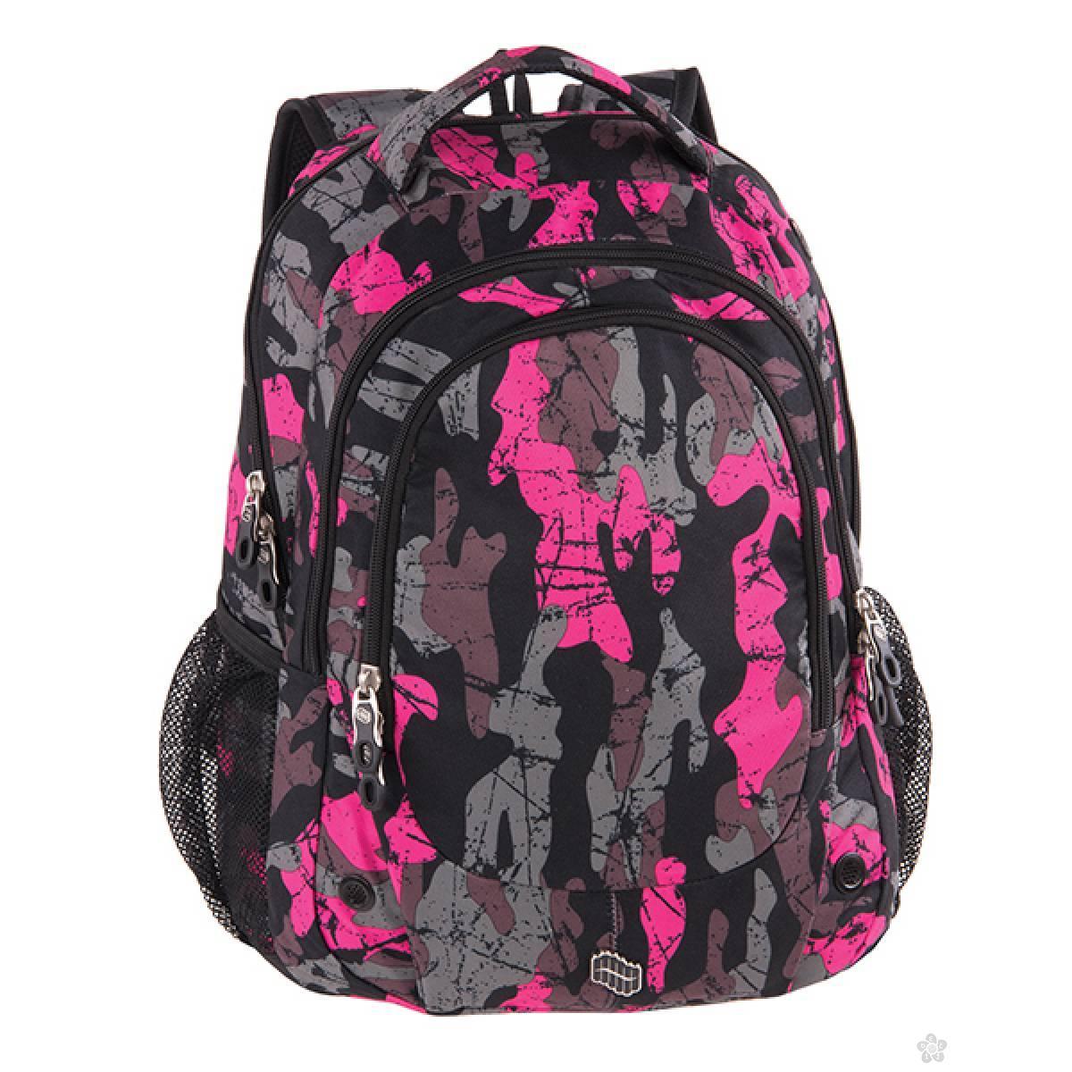 Ranac Blast Pink Army 121830