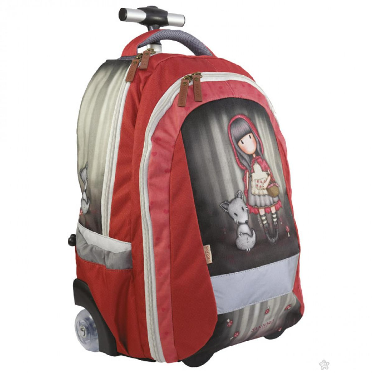 Gorjuss ranac sa točkićima Little Red Riding Hood G4193023