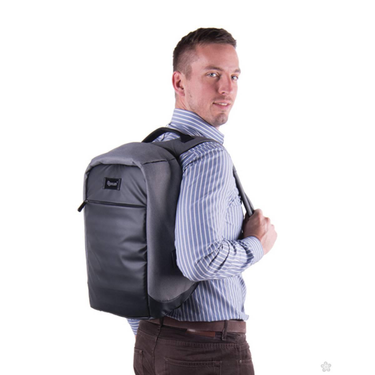 Ranac/Poslovna torba Anti Theft Maze Gray 121535
