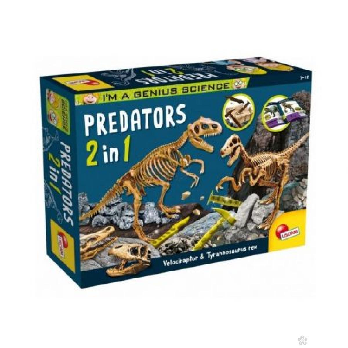 Mali Genije Predatori set  2 u 1 35177