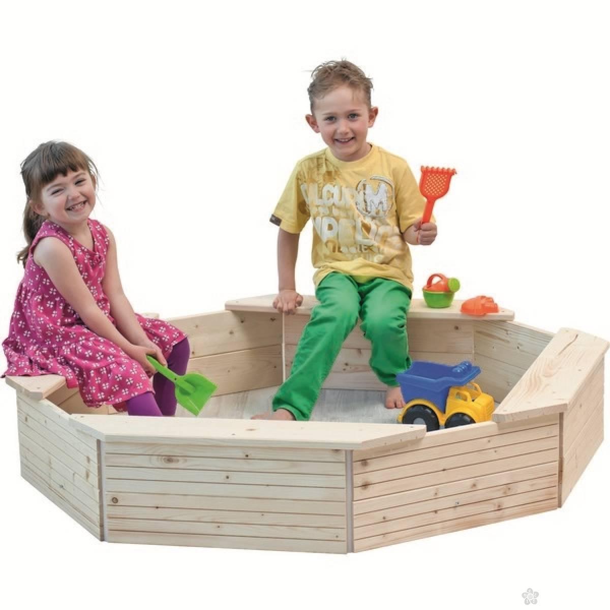 Drvena kutija za pesak 10303