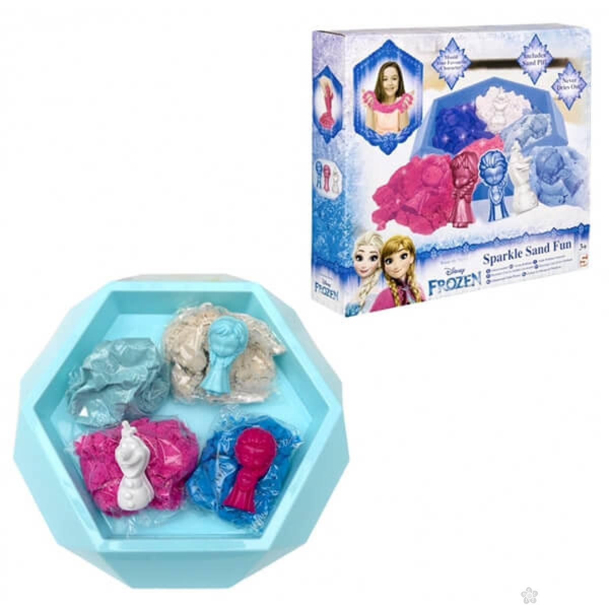 Frozen Sparkle Sand Fun magicni pesak 7091