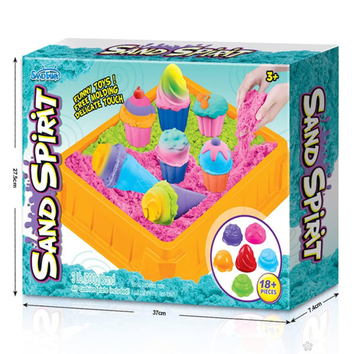 MX- Set magični pesak-modle sladoled 22141
