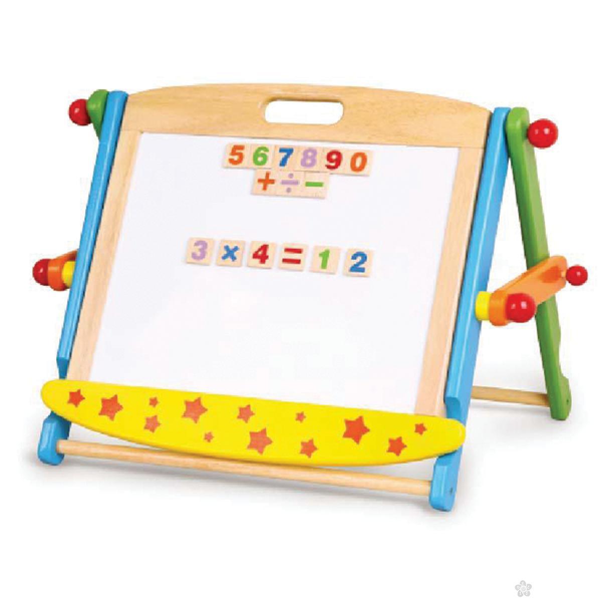 Magnetna tabla sa brojevima