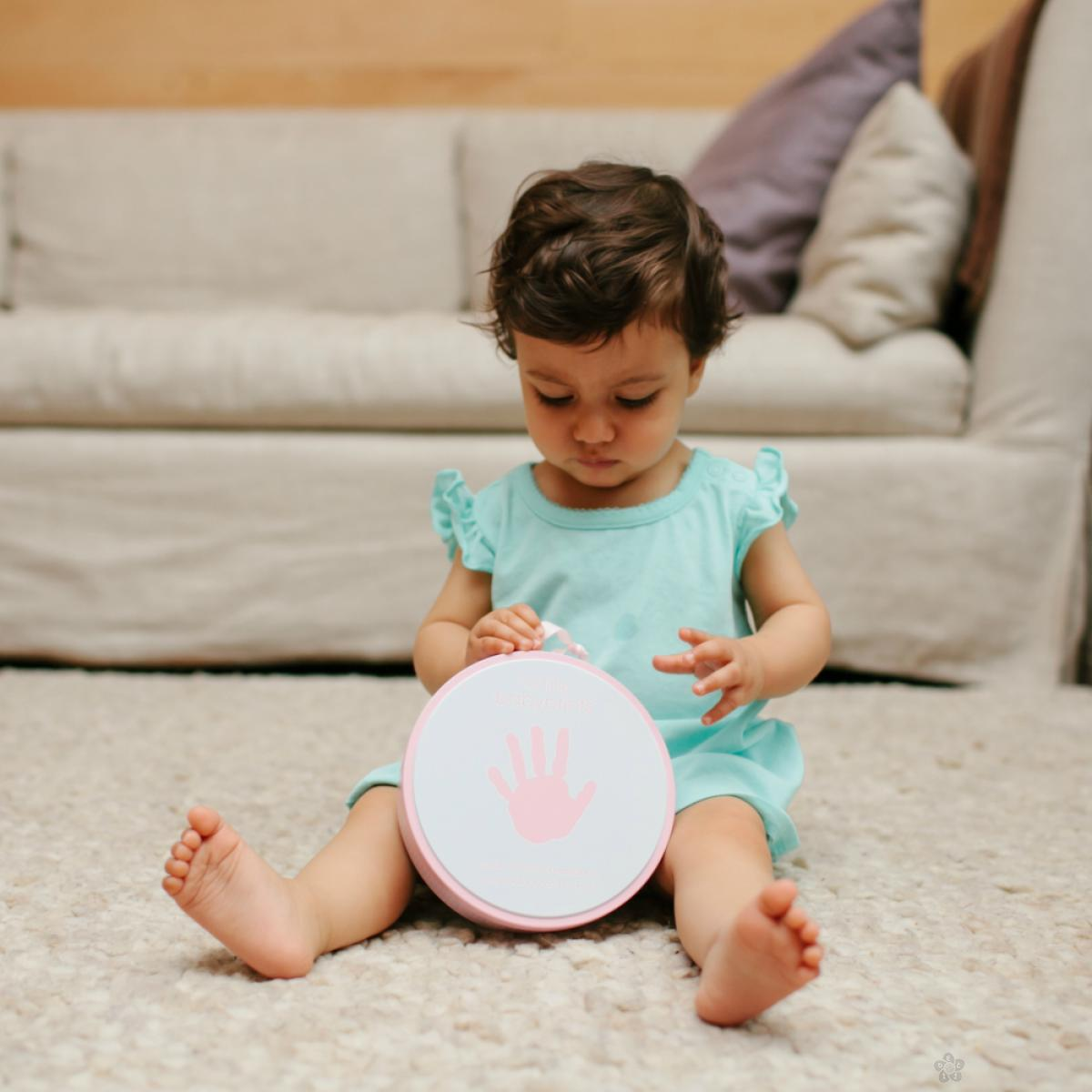 Babyprints kutija sa otiscima roza 82014