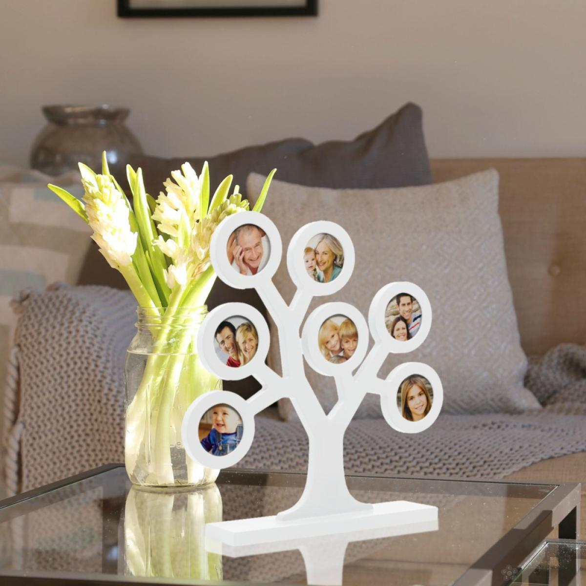 Ram za slike Familly Tree, Beli P62111