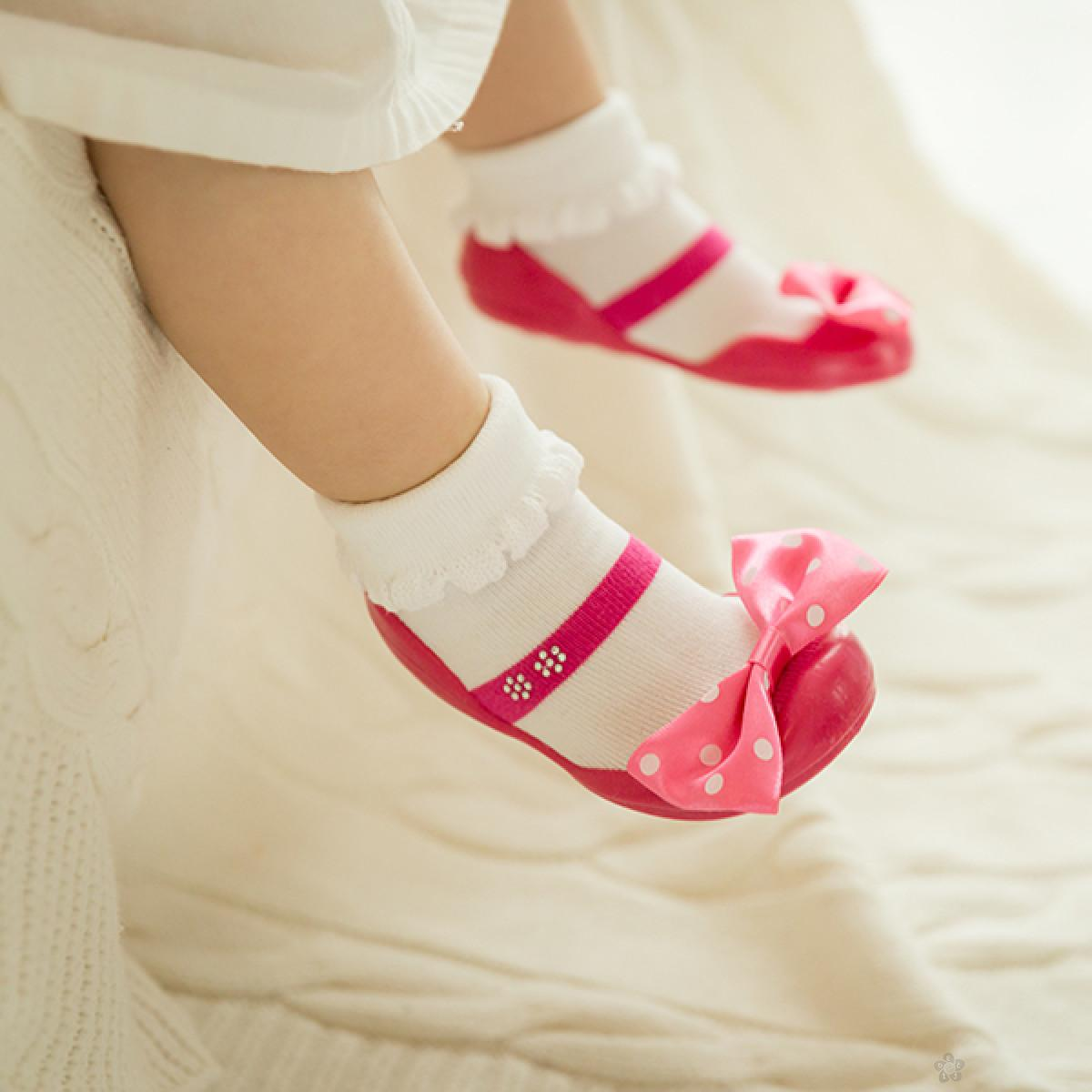 Cipelice za decu Ggomoosin Elishia Pink
