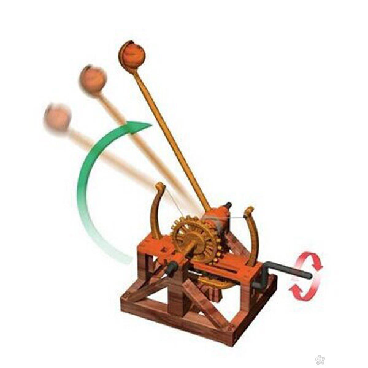 3D Leonardo Da Vinci Catapult E272