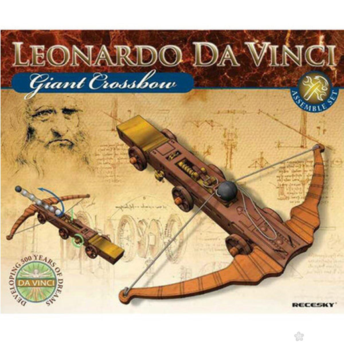Igračke Mehano 3D maketa Leonardo Da Vinči samostrel E280